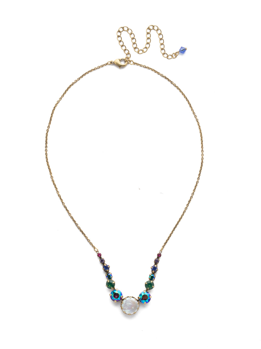 Meera Tennis Necklace - NEF43AGGOT