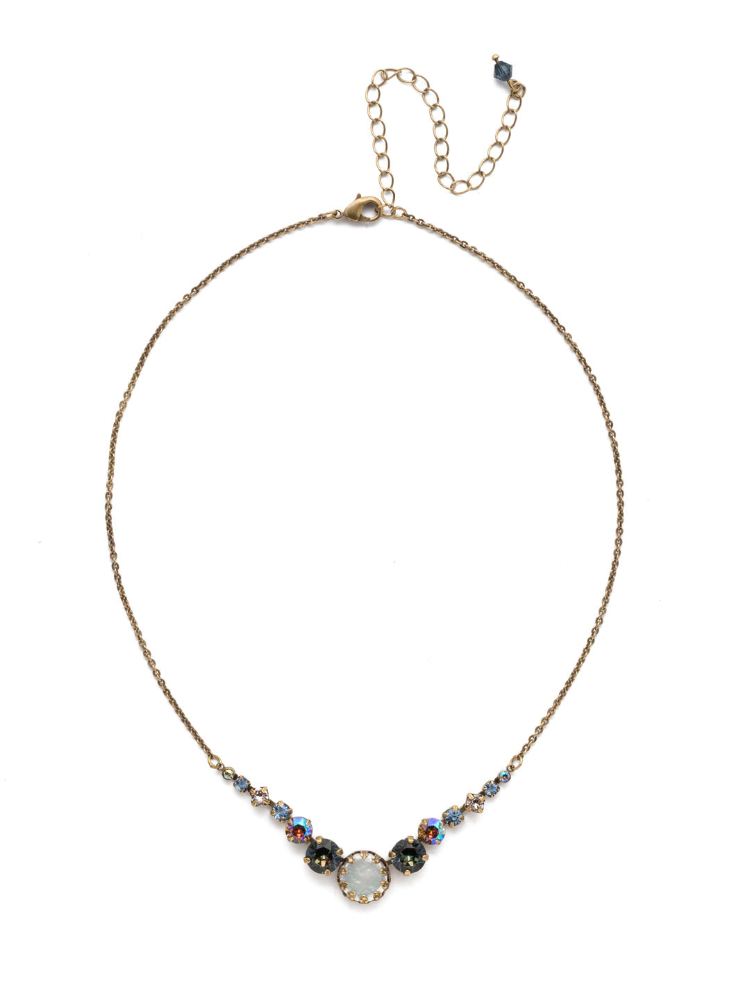 Meera Tennis Necklace - NEF43AGSDE