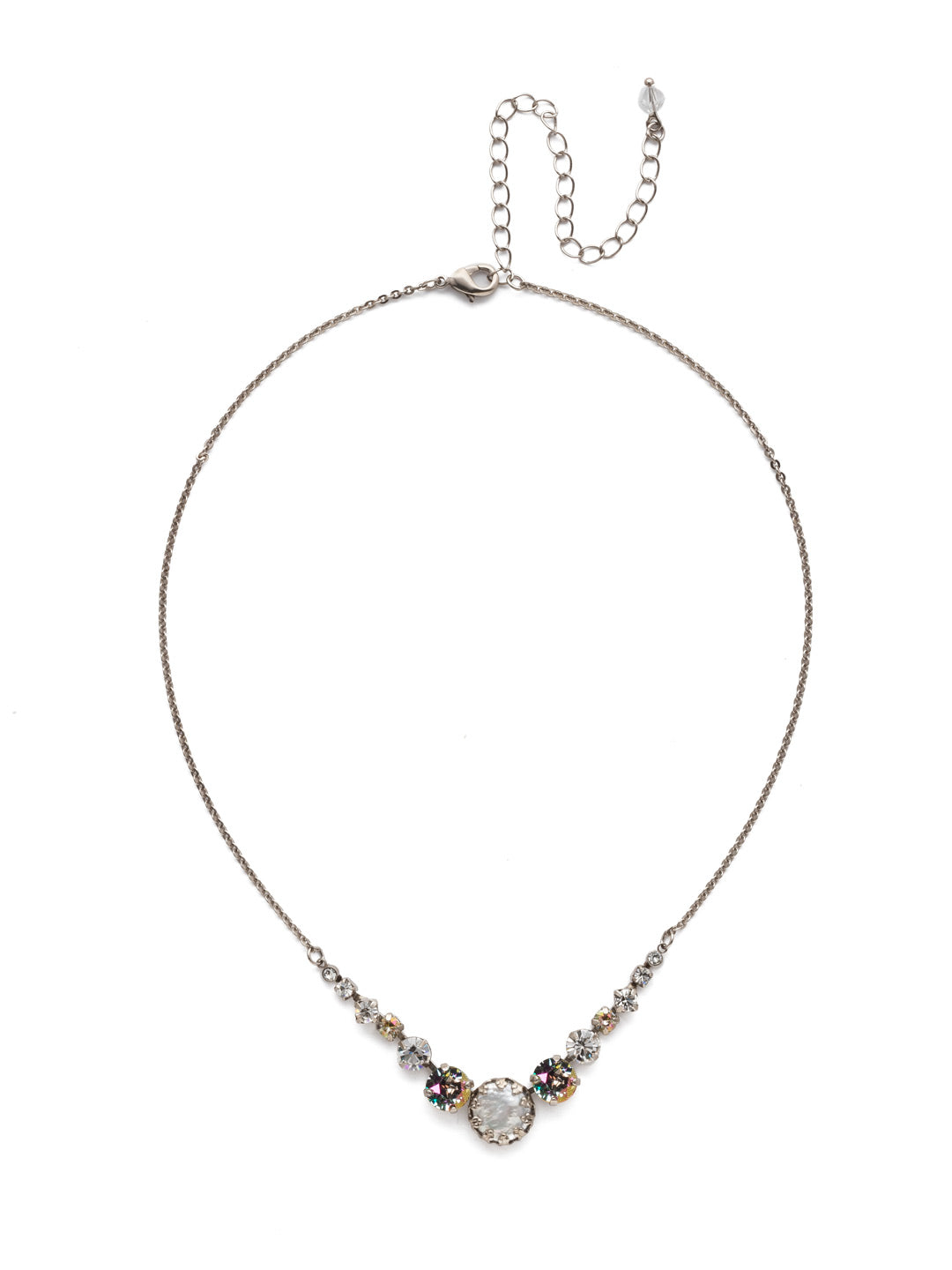 Meera Tennis Necklace - NEF43ASCRE