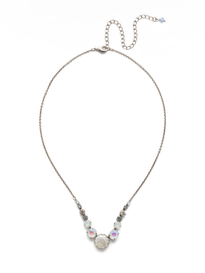 Meera Tennis Necklace - NEF43ASGLC