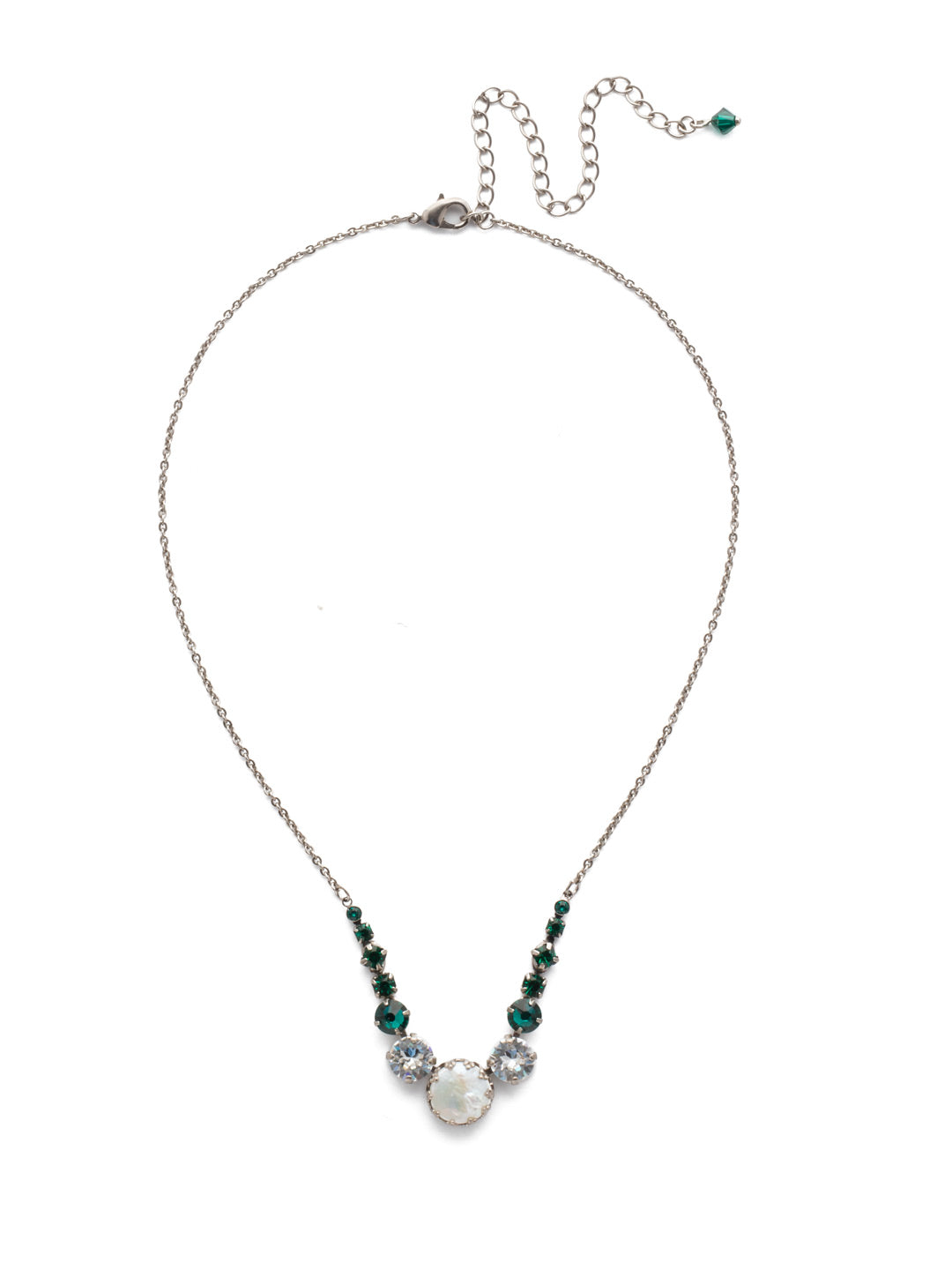 Meera Tennis Necklace - NEF43ASSNM