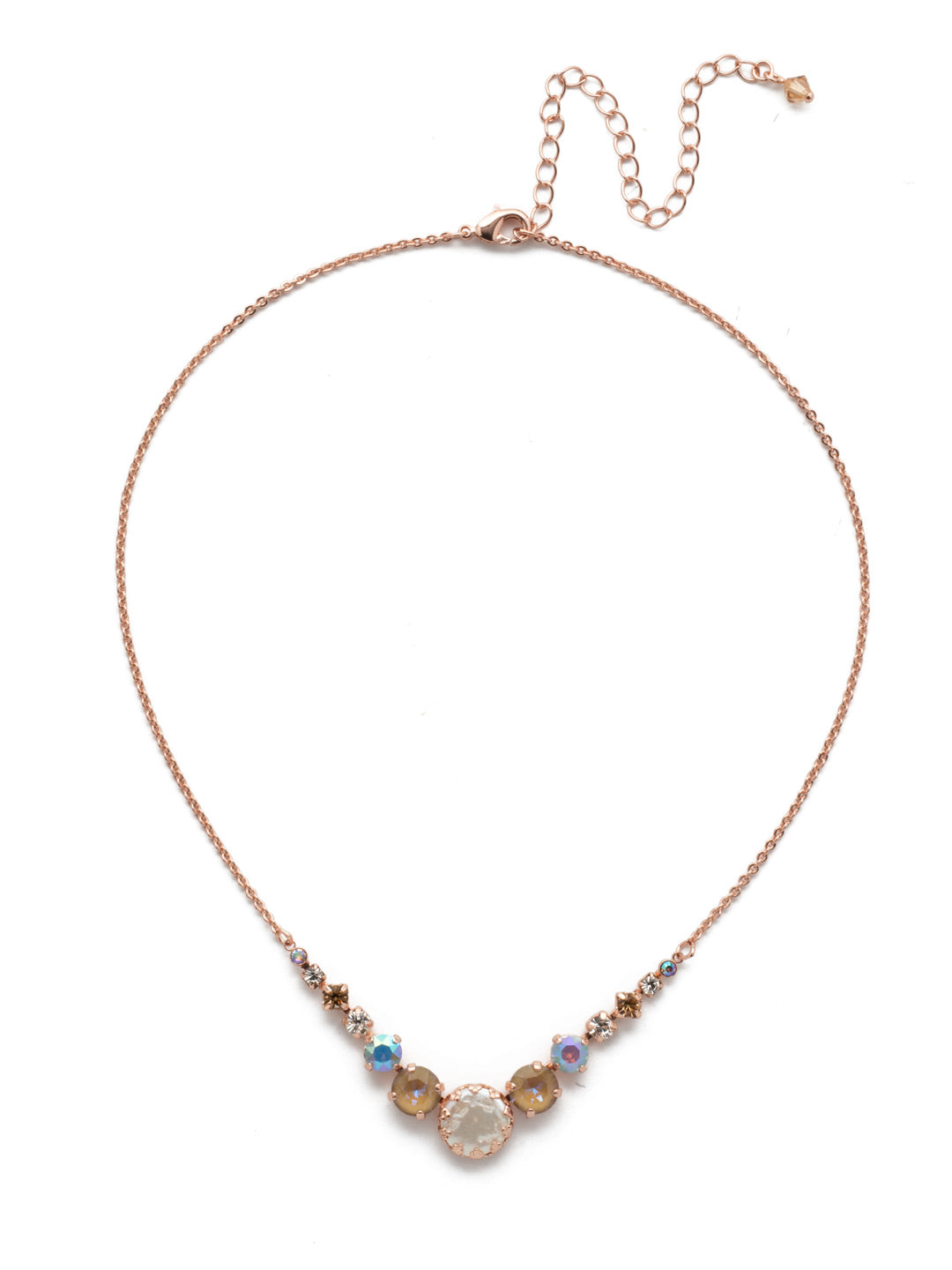 Meera Tennis Necklace - NEF43RGROG