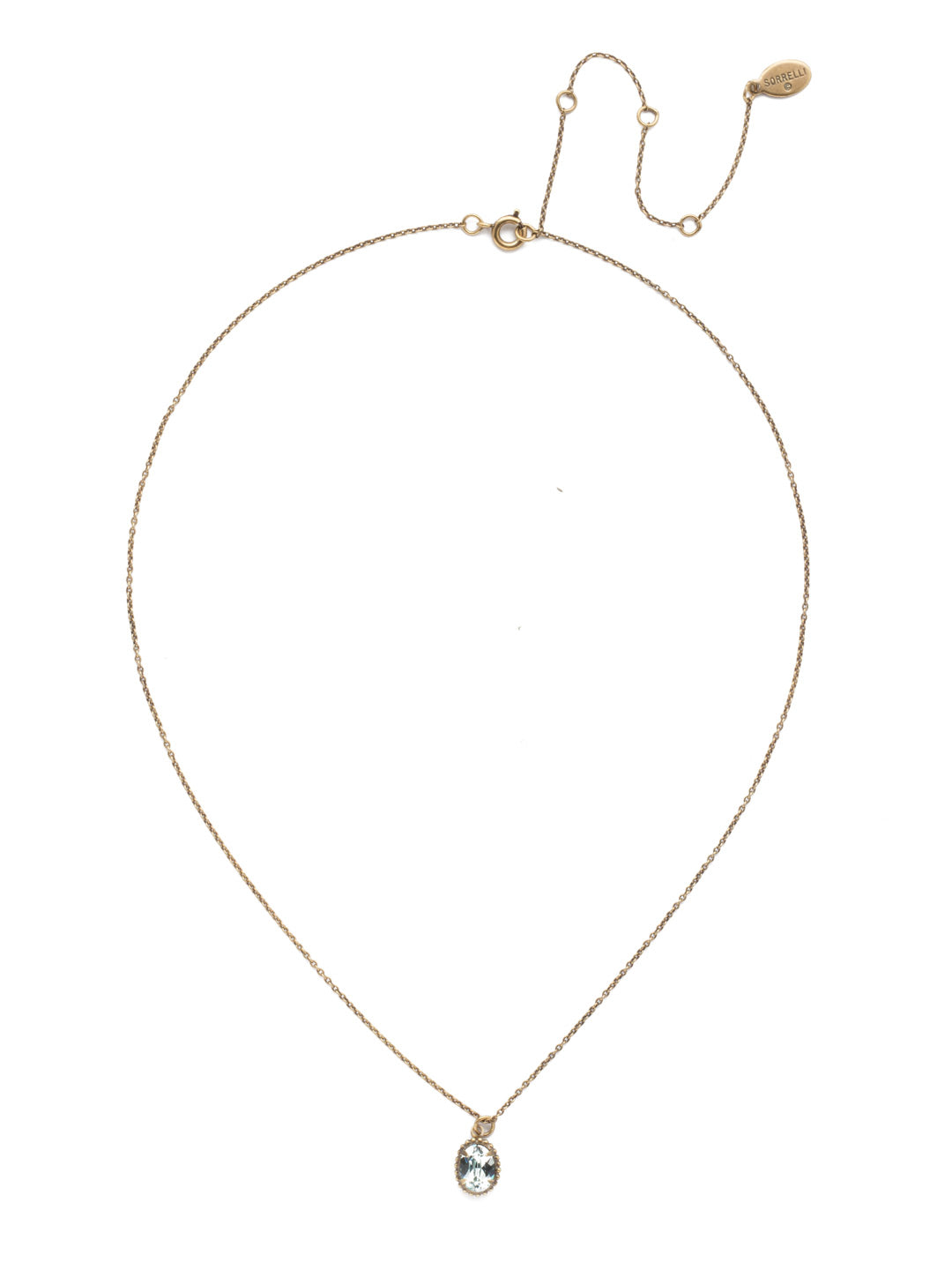 Maisie Pendant Necklace - NEF49AGLAQ