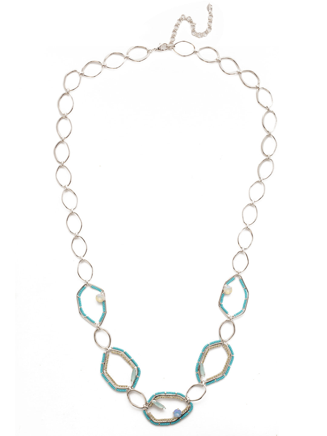Seascape Long Strand Necklace - NEH10RHTHT