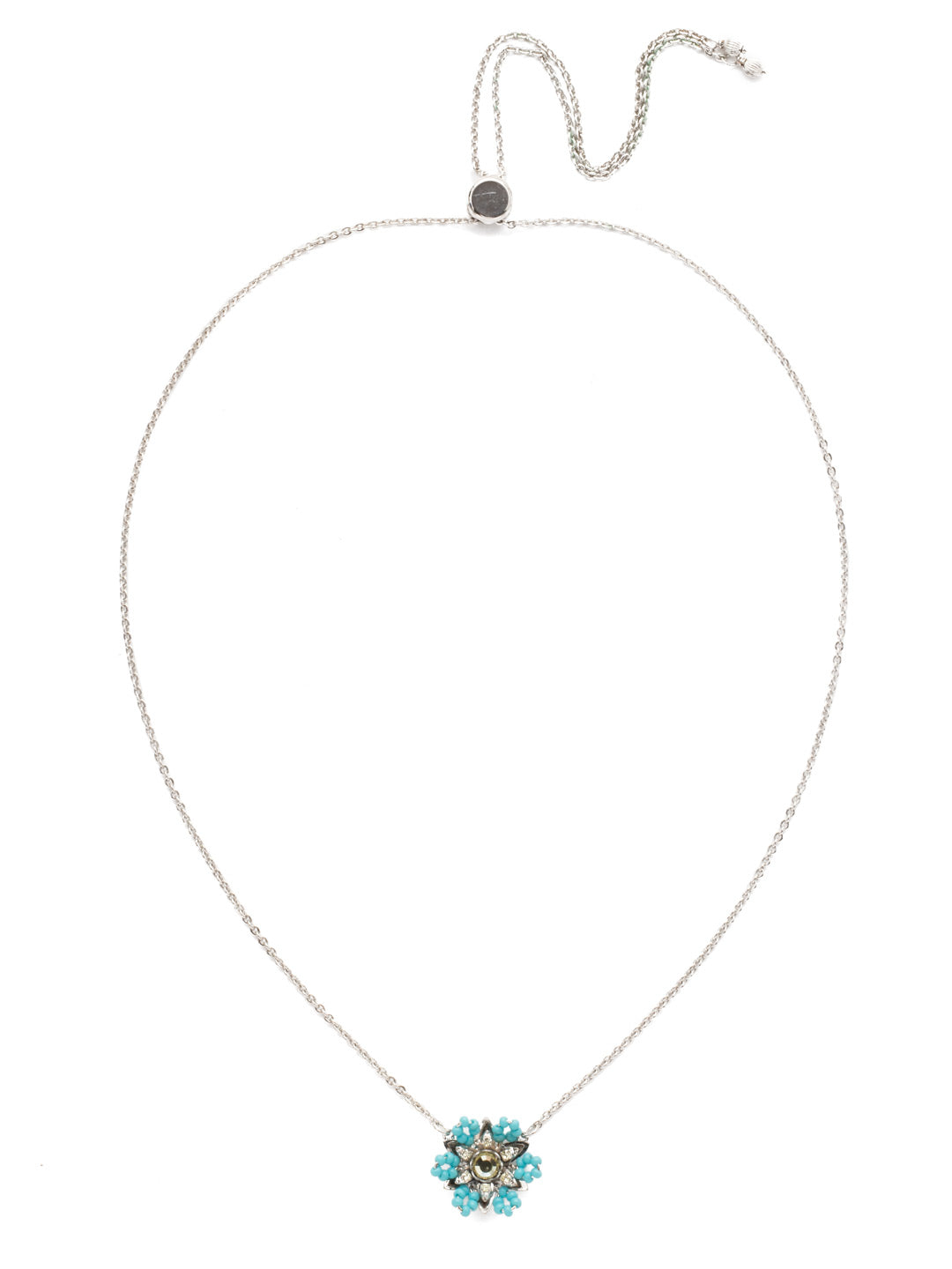 Astrid Pendant Necklace - NEH1RHTHT