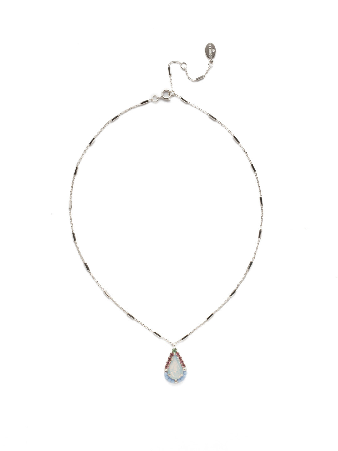 Delicate Drop Pendant Necklace - NEK15RHSSU