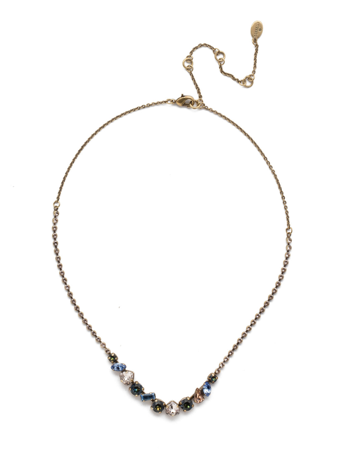 Cherished Tennis Necklace - NEK19AGSDE