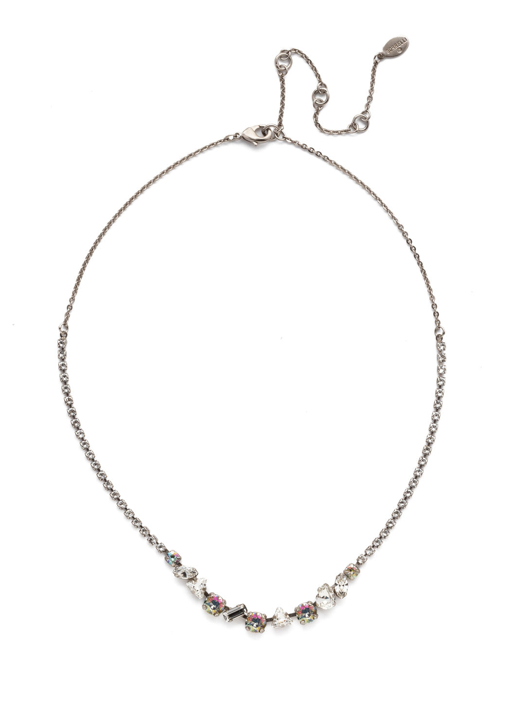 Cherished Tennis Necklace - NEK19ASCRE