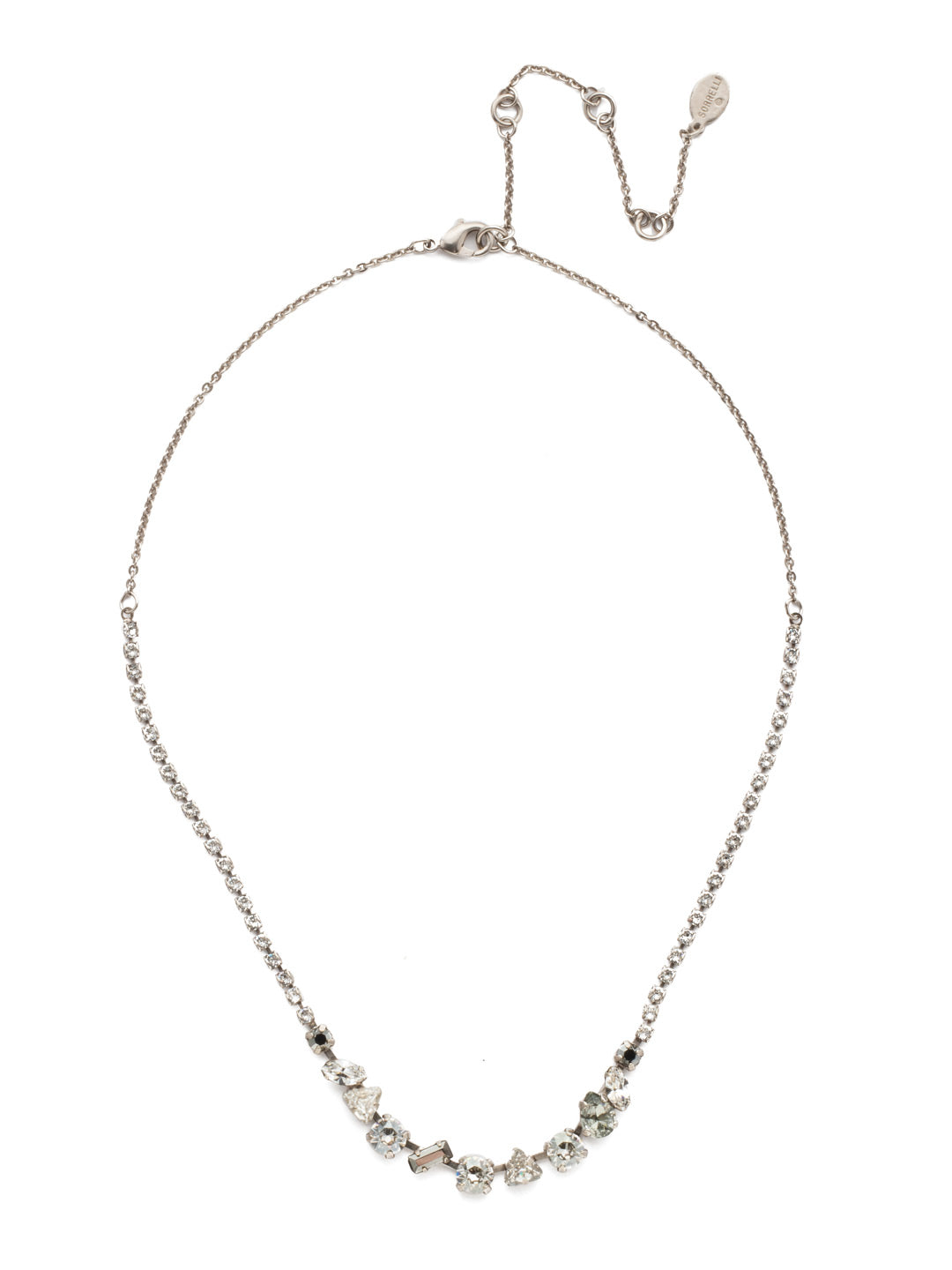 Cherished Tennis Necklace - NEK19ASCRO