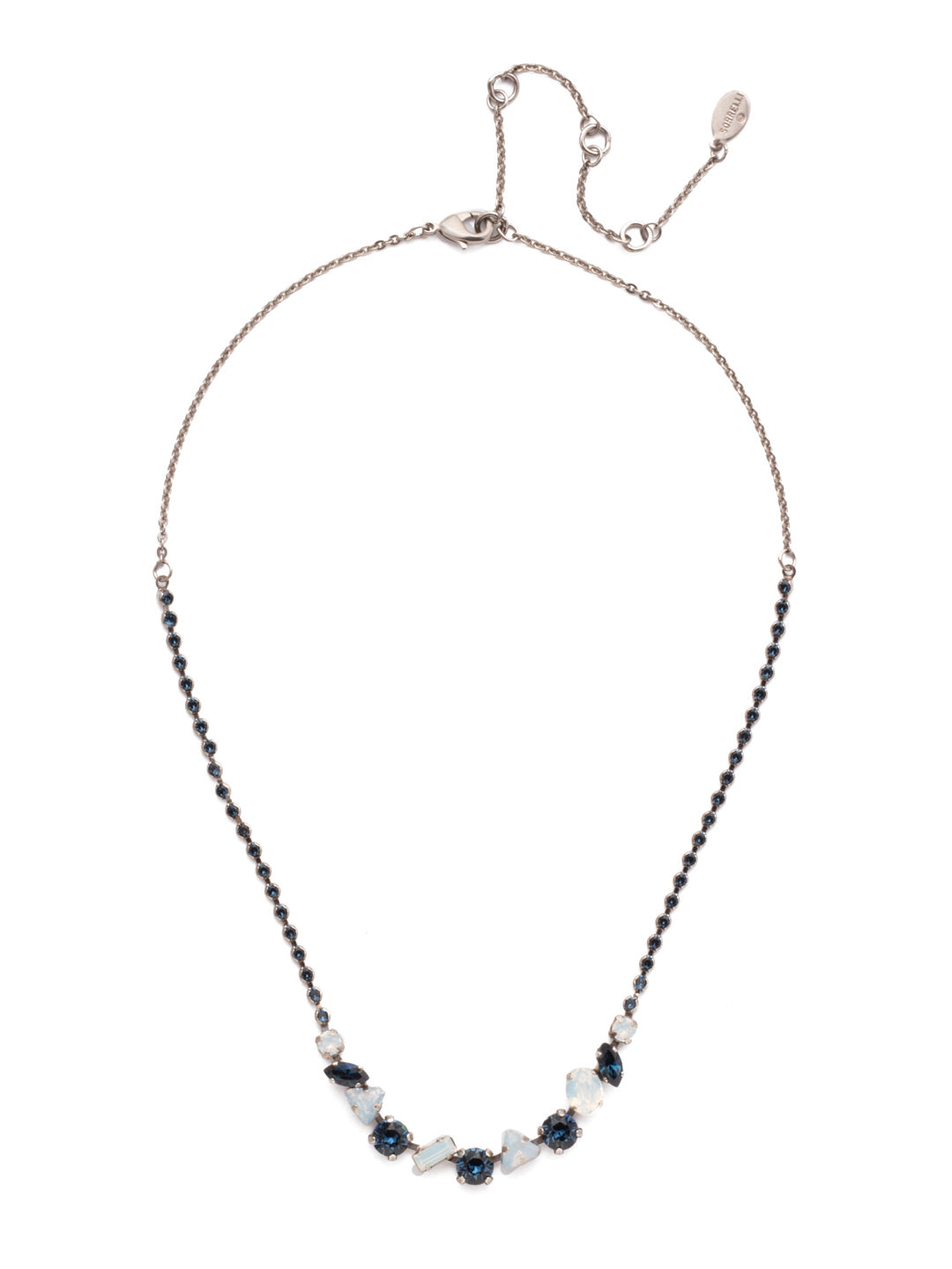 Cherished Tennis Necklace - NEK19ASGBL