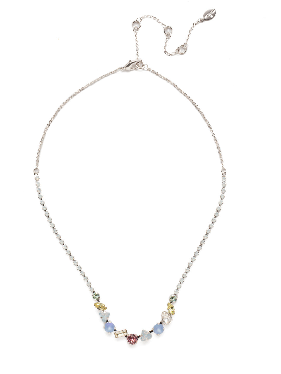 Cherished Tennis Necklace - NEK19RHSSU