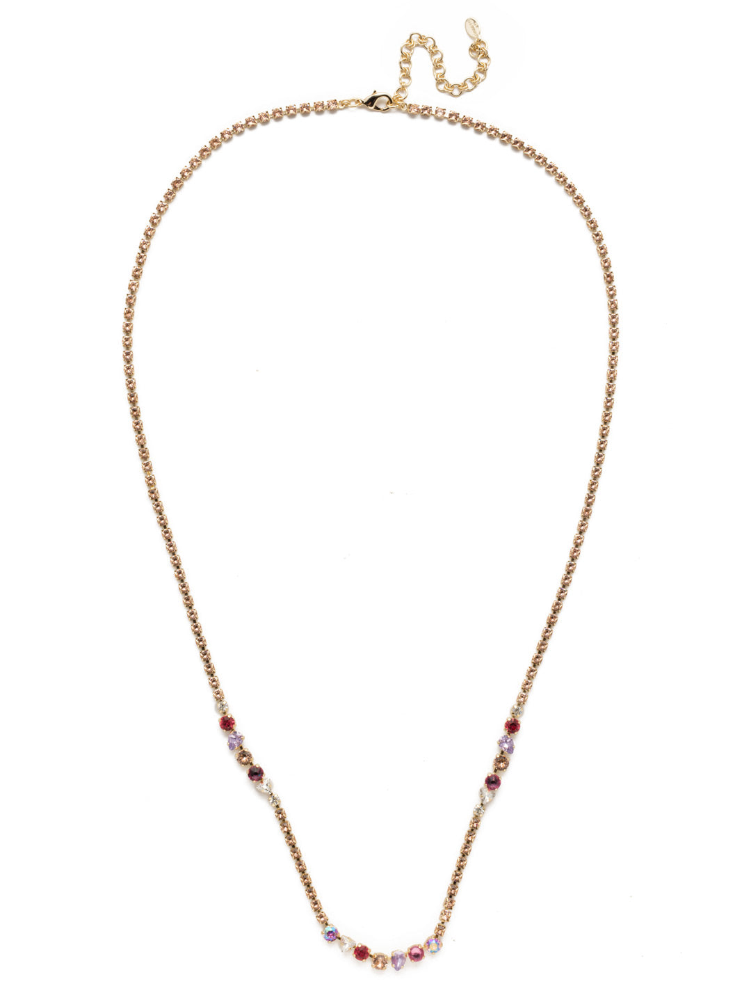 Aviva Long Necklace - NEK24BGISS