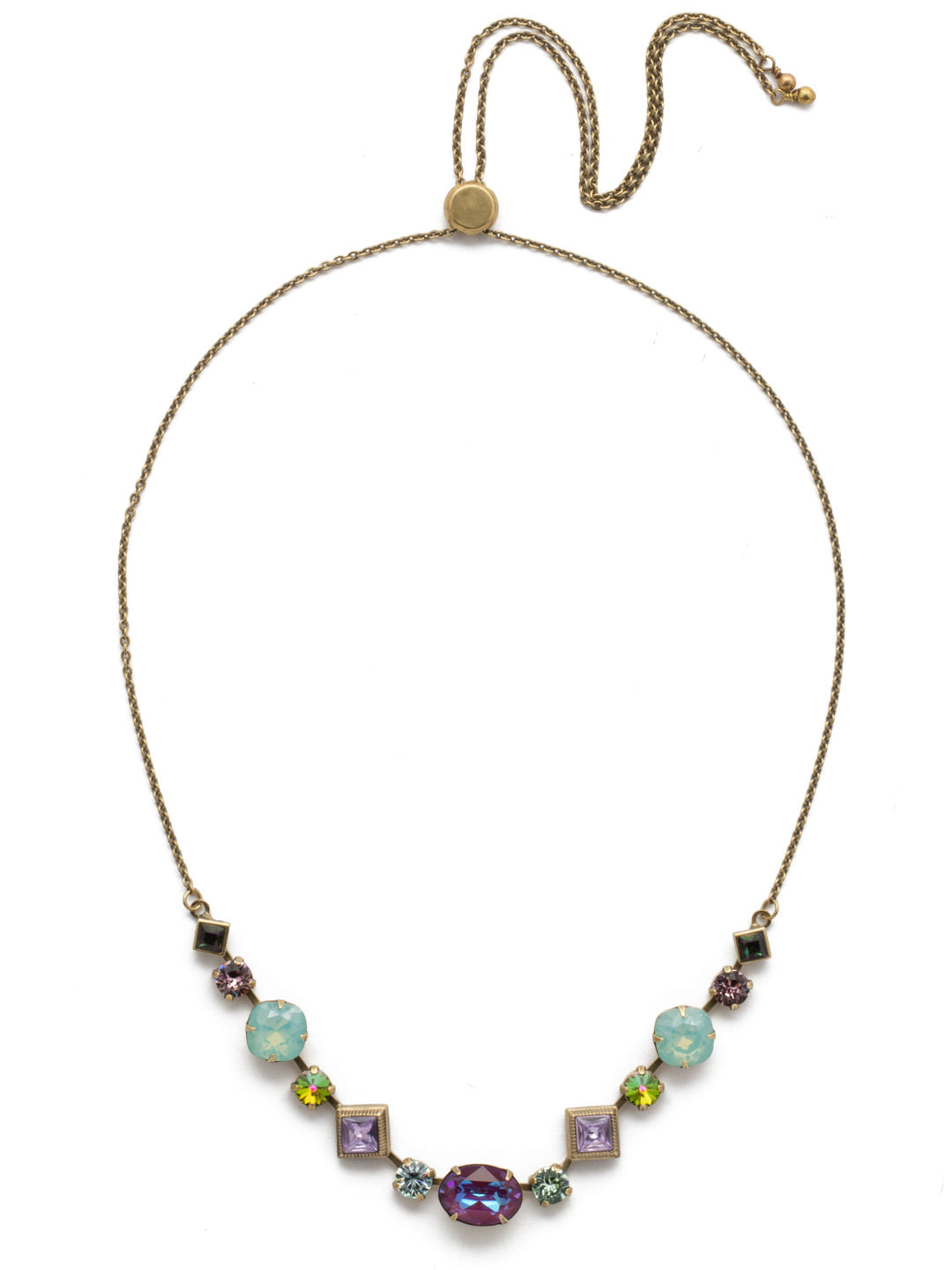 Cordelia Tennis Necklace - NEK29AGIRB