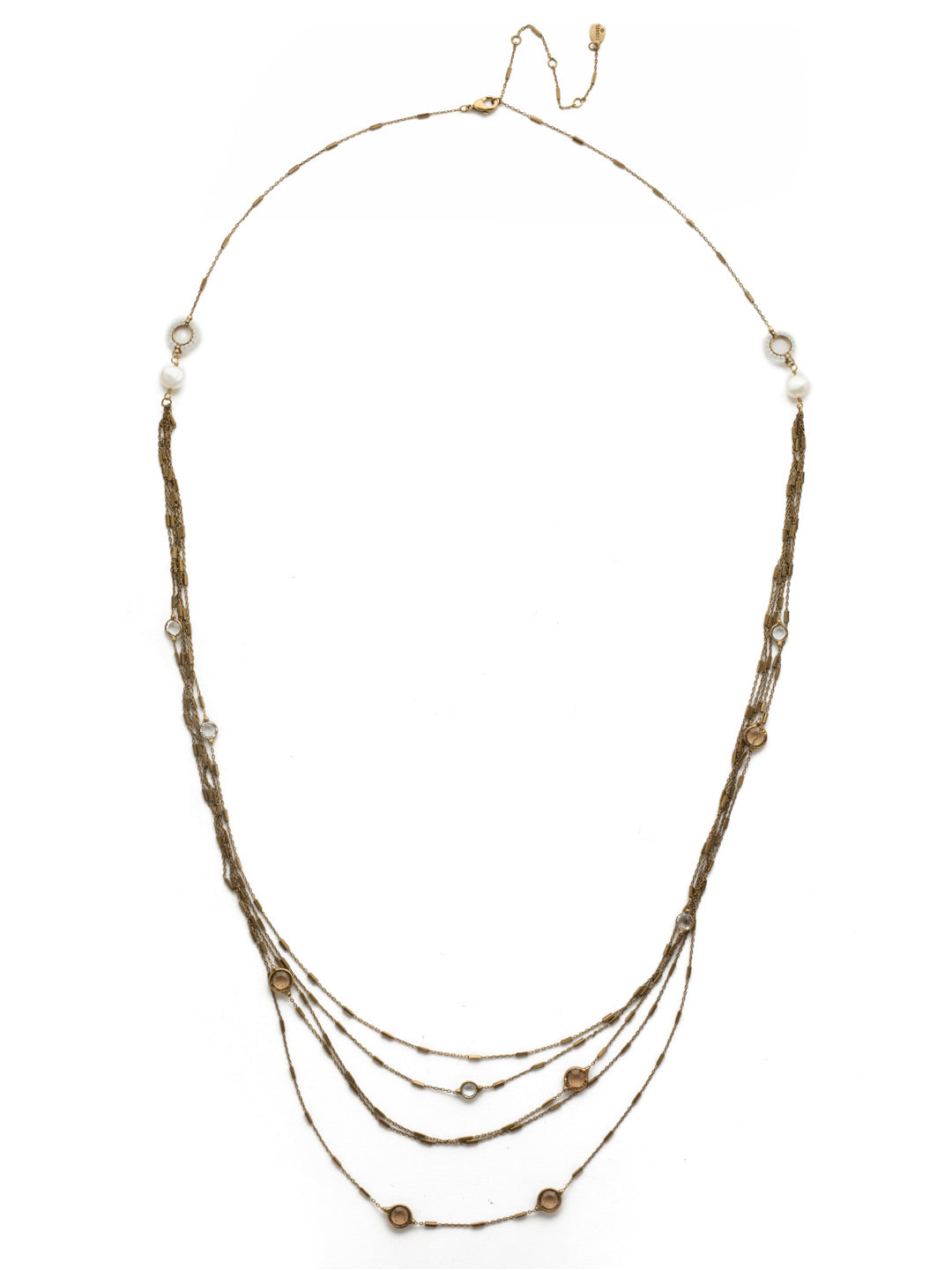 Luminous Layered Necklace - NEK2AGROB