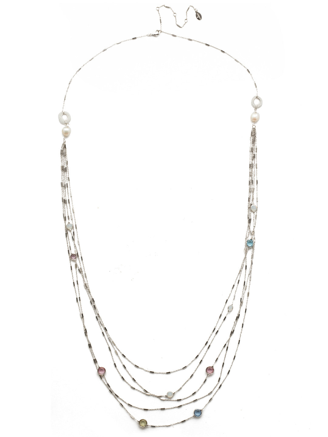 Luminous Layered Necklace - NEK2RHSSU
