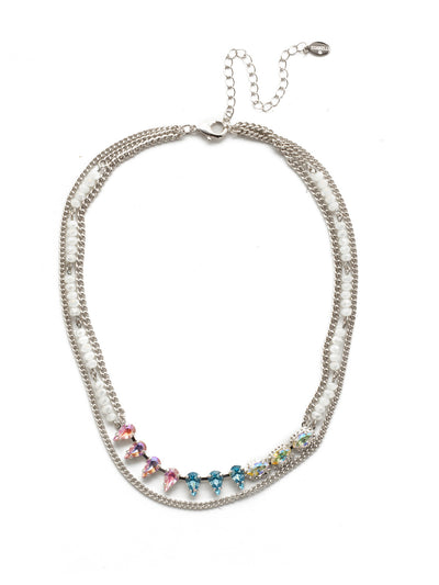 Fabienne Layered Necklace - NEK30RHSSU