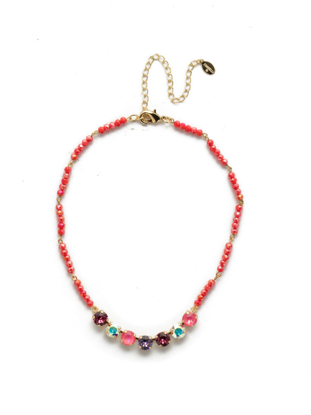 Aviva Tennis Necklace - NEK31BGISS