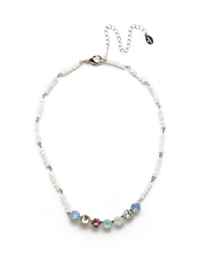 Aviva Tennis Necklace - NEK31RHSSU