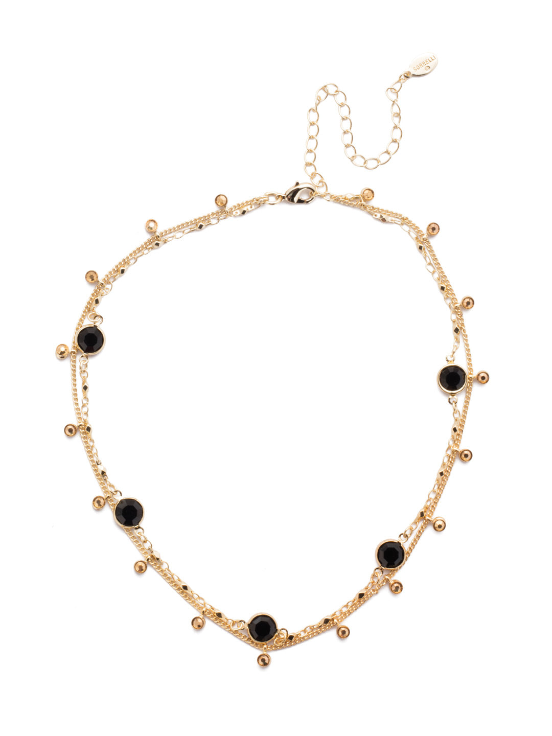 Dewdrop Layered Necklace - NEK36BGGTR