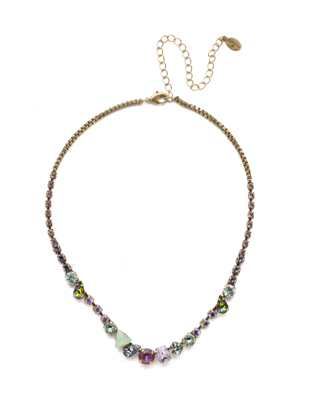 Sonja Tennis Necklace - NEN12AGIRB