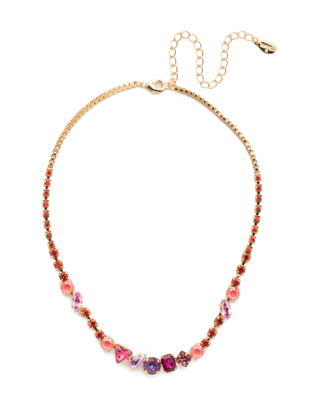Sonja Tennis Necklace - NEN12BGBGA