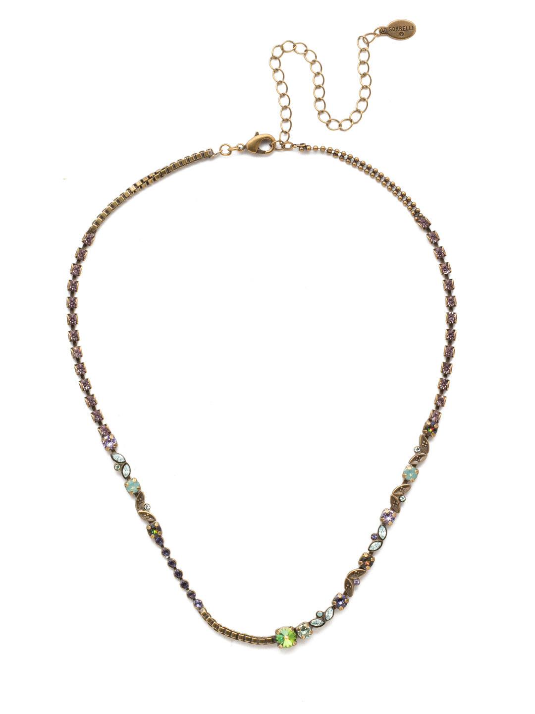 Juliette Tennis Necklace - NEN13AGIRB