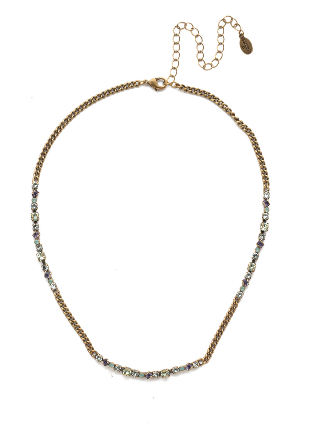 Brielle Tennis Necklace - NEN20AGIRB