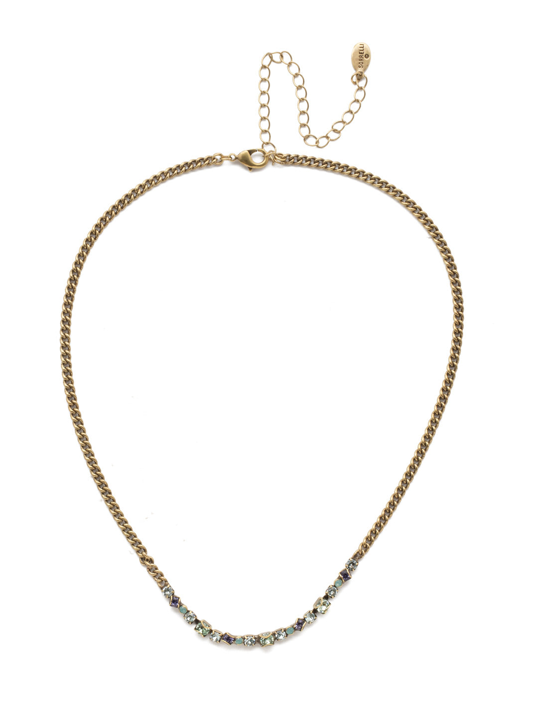 Charolette Tennis Necklace - NEN21AGIRB