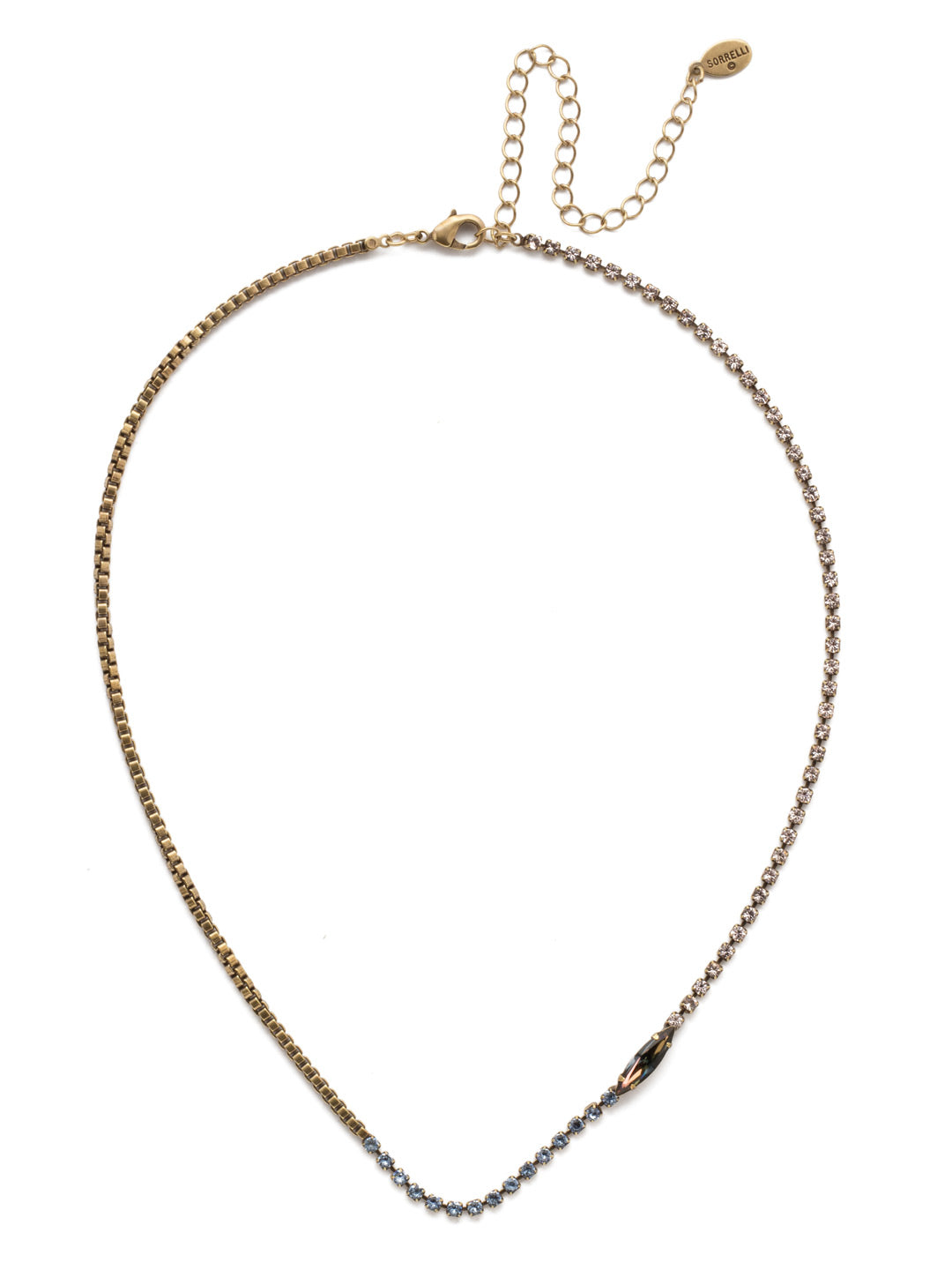 Annatalia Tennis Necklace - NEP10AGSDE