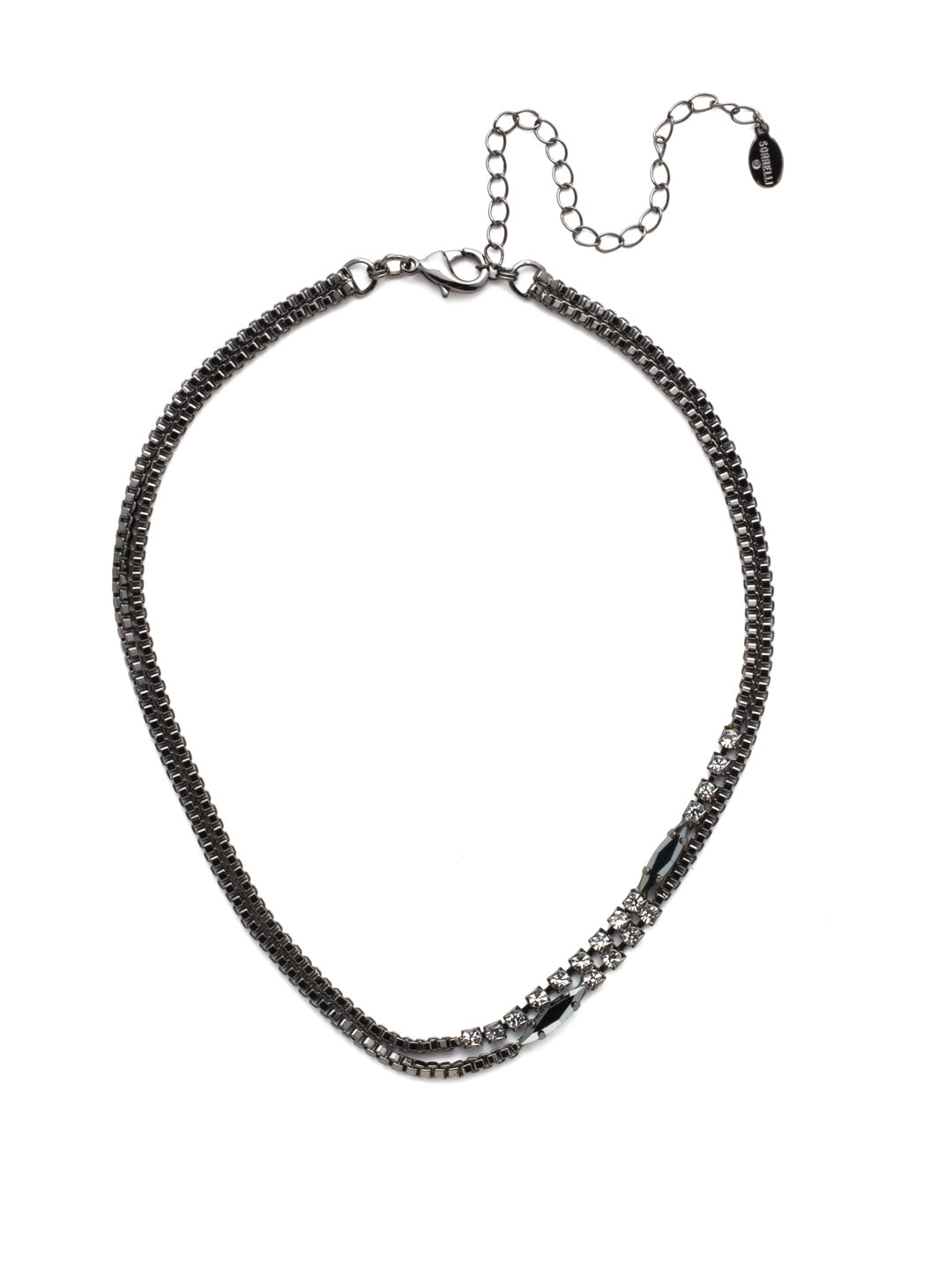 Banks Tennis Necklace - NEP11GMMMO