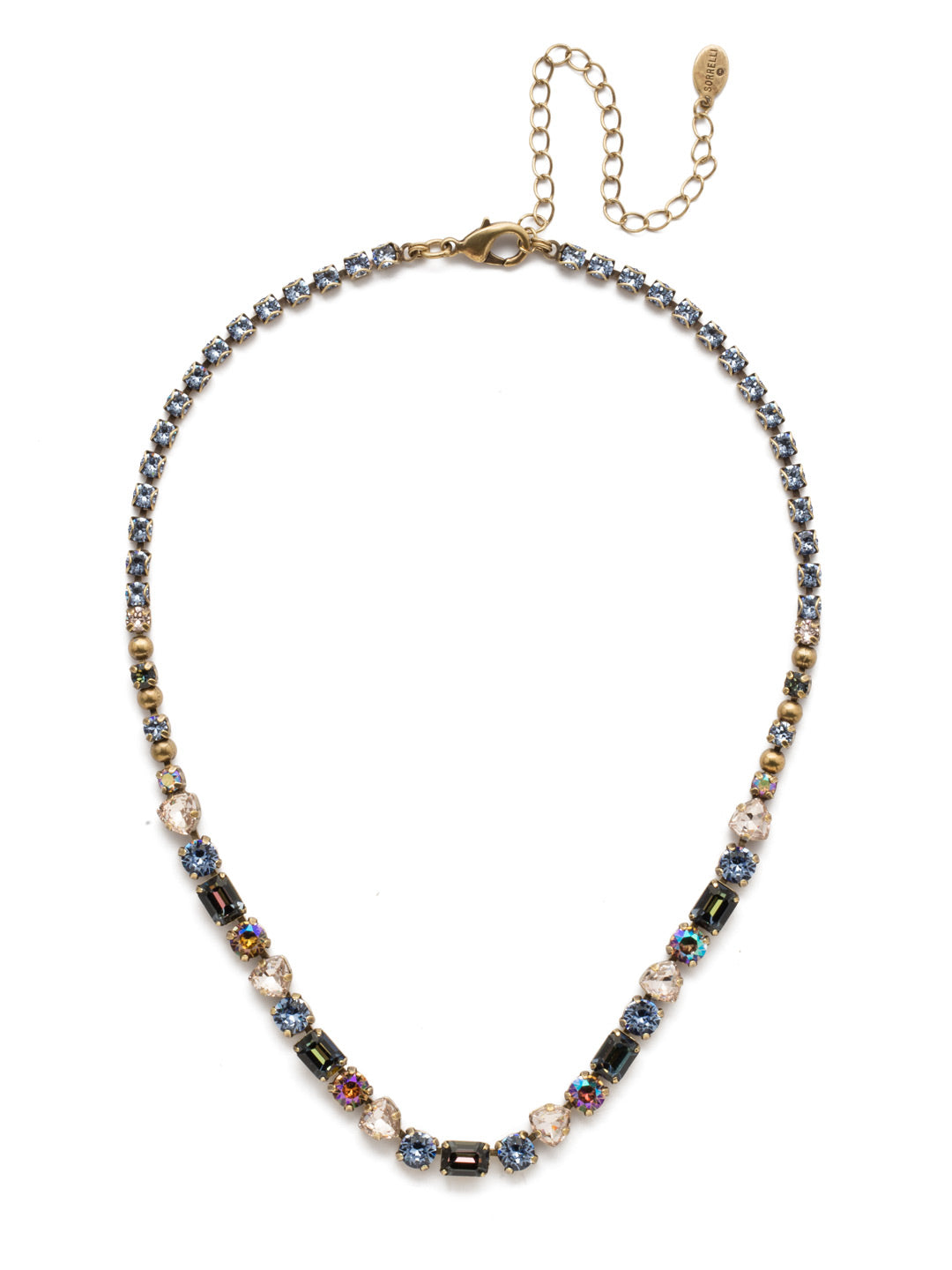 Florence Tennis Necklace - NEP13AGSDE