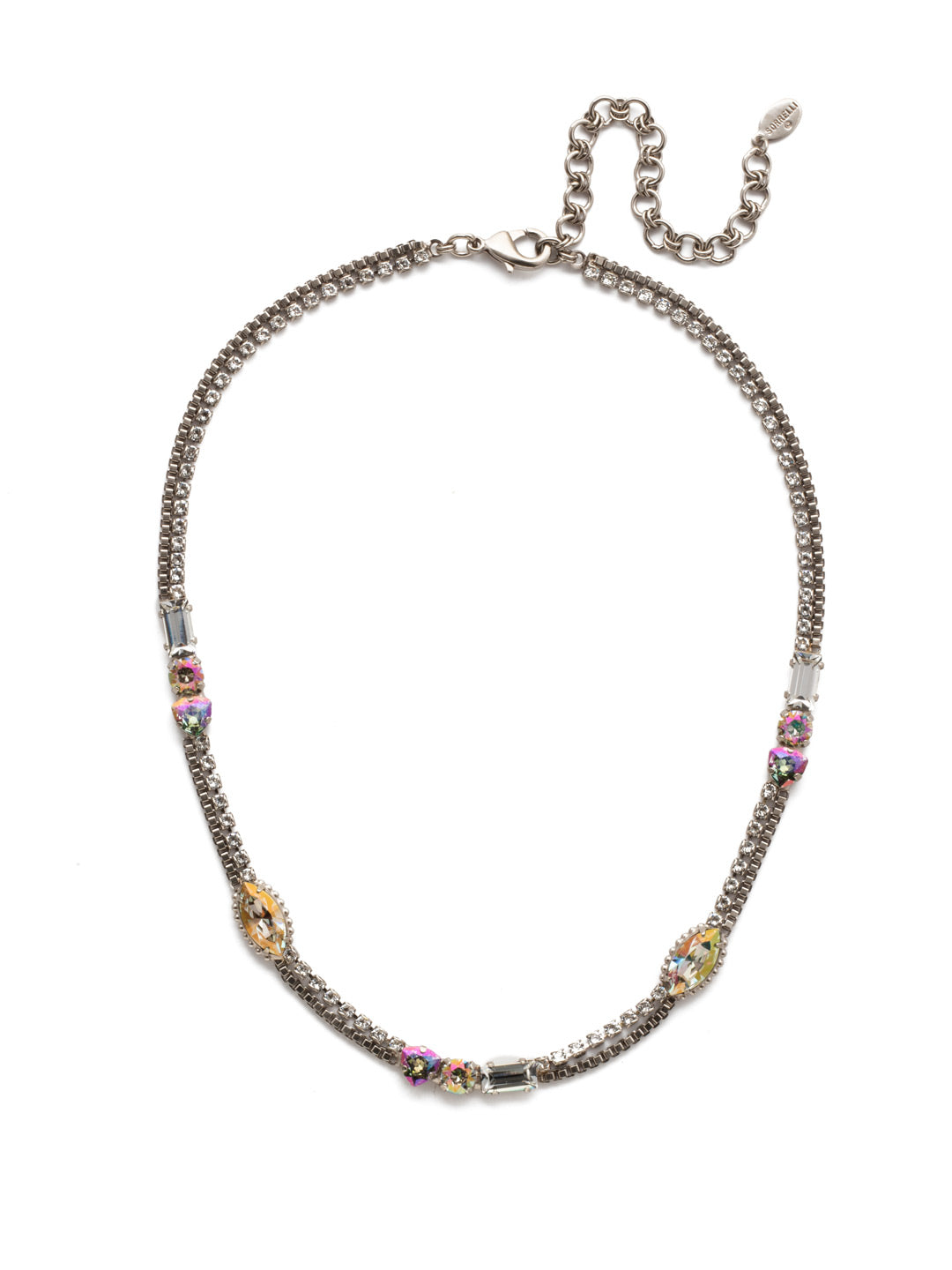Claretta Tennis Necklace - NEP14ASCRE