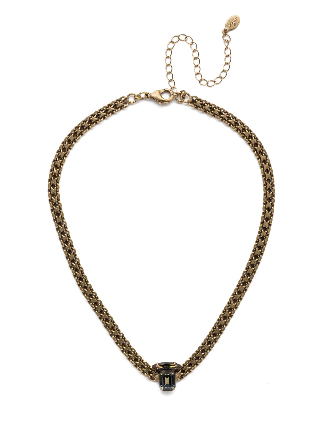 Giselle Tennis Necklace - NEP15AGSDE