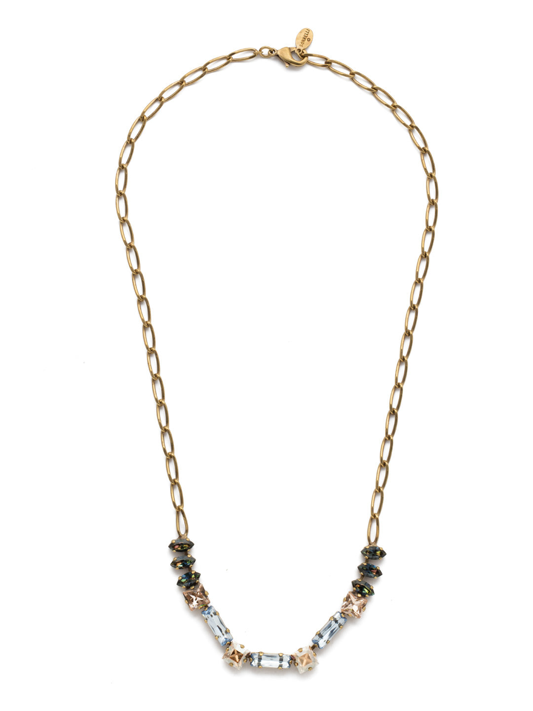 Abriana Tennis Necklace - NEP17AGSDE
