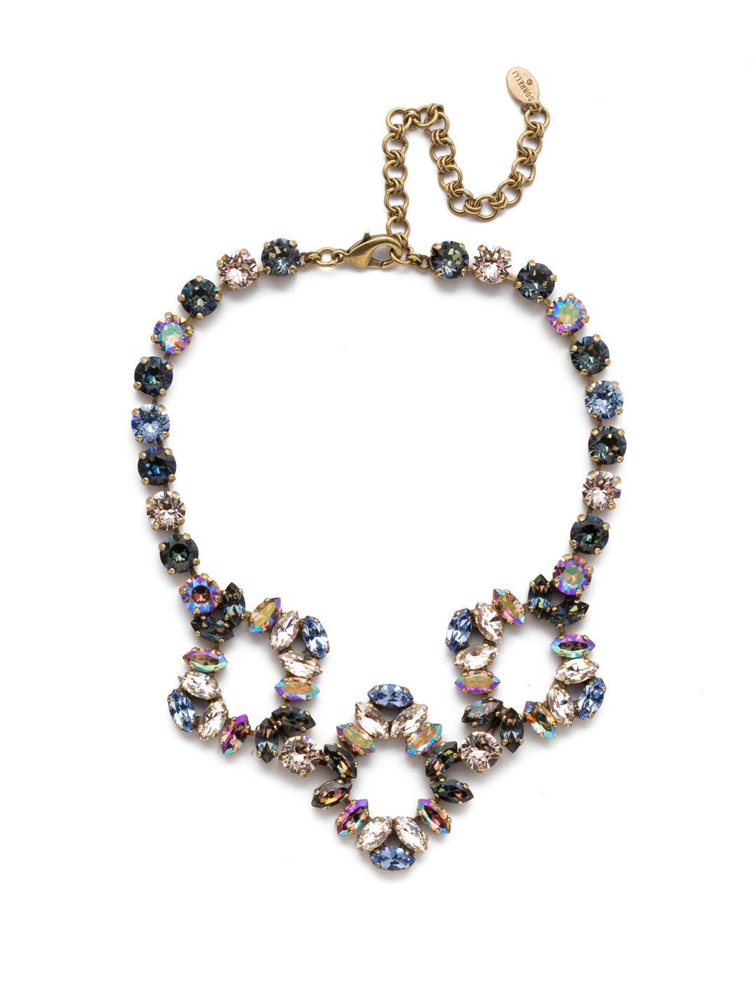 Marcella Statement Necklace - NEP19AGSDE