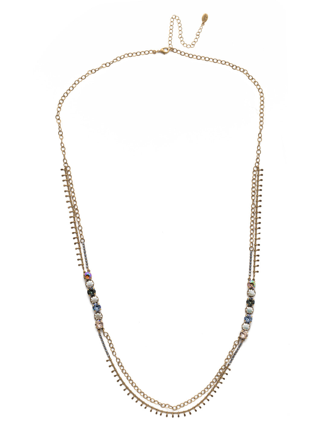 Oaklyn Tennis Necklace - NEP1AGSDE