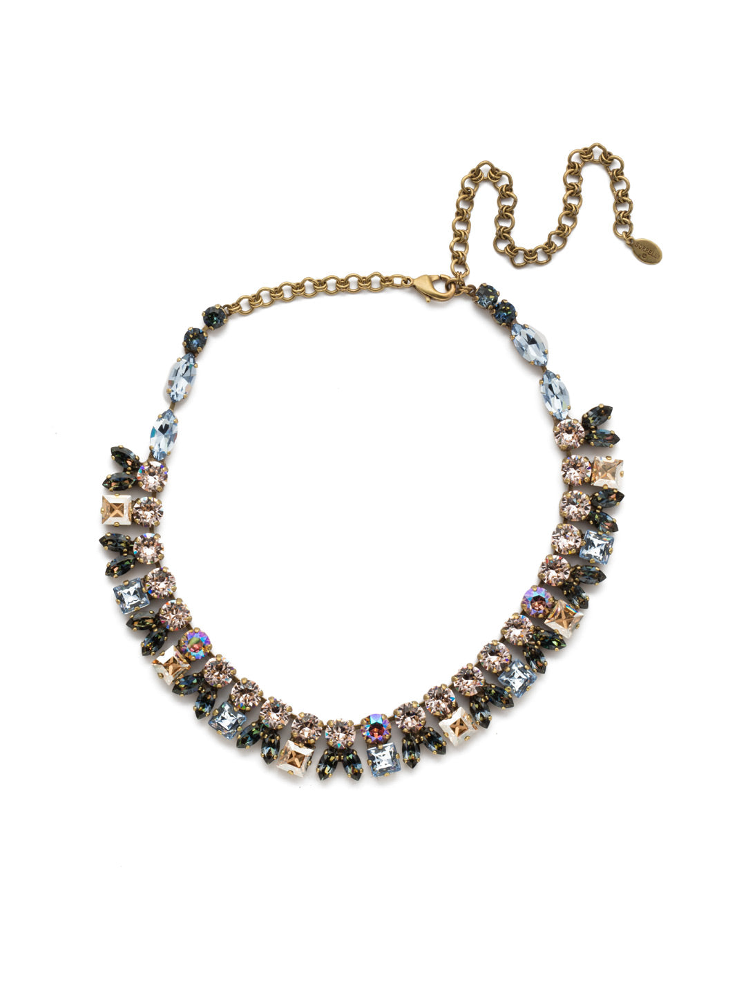 Paola Statement Necklace - NEP20AGSDE