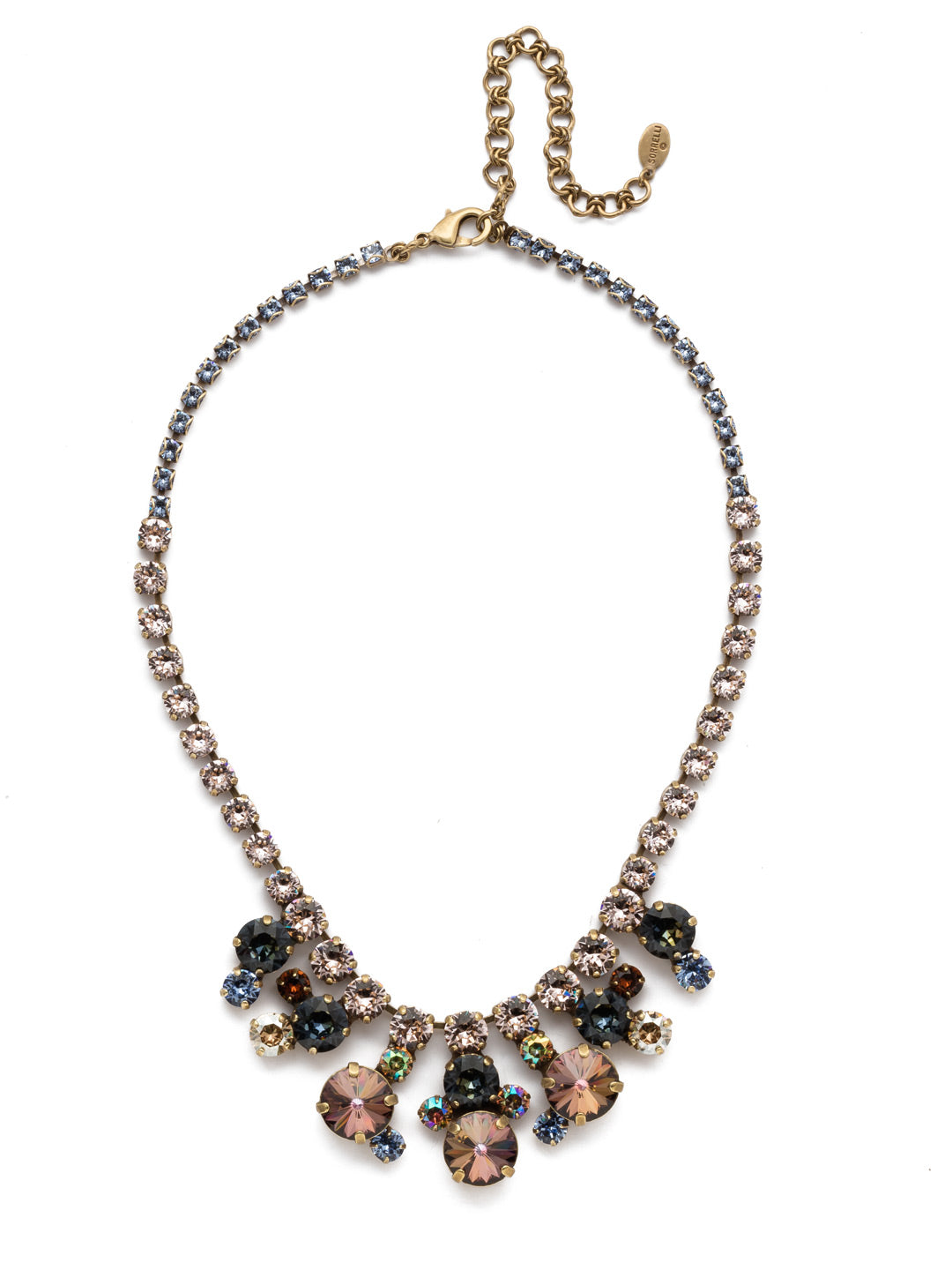 Danielle Statement Necklace - NEP21AGSDE