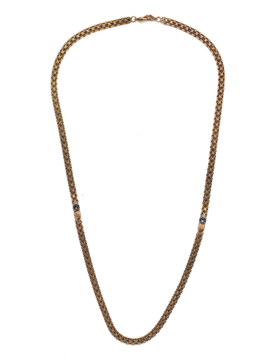Tatum Long Necklace - NEP33AGSDE
