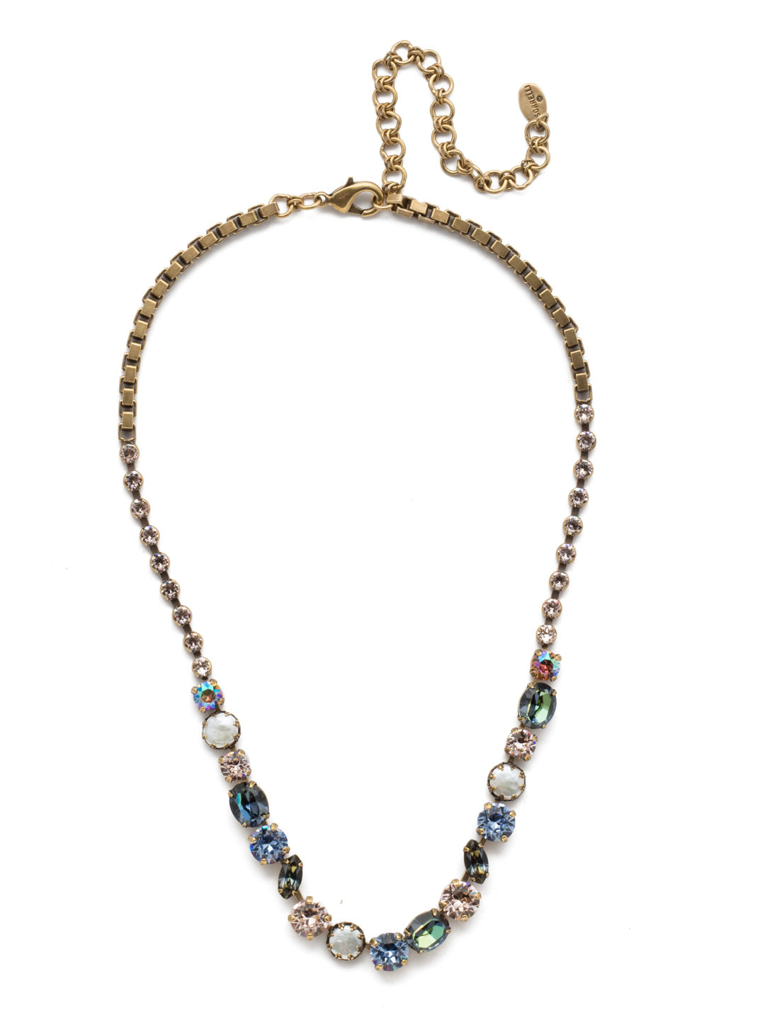 Harttley Tennis Necklace - NEP3AGSDE