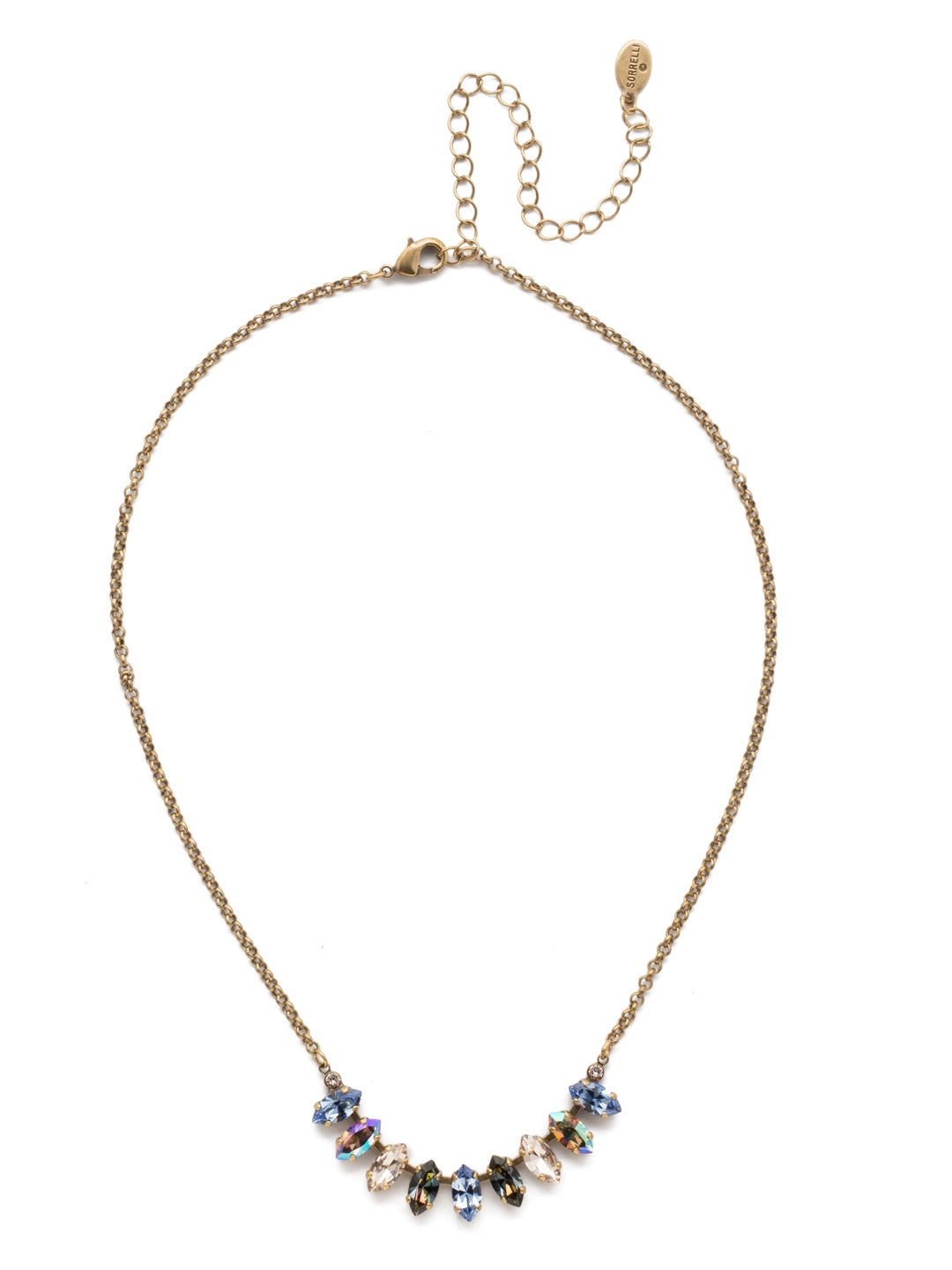 Clarissa Tennis Necklace - NEP4AGSDE