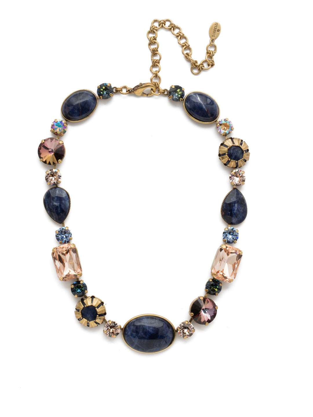 Tatiana Statement Necklace - NEP57AGSDE