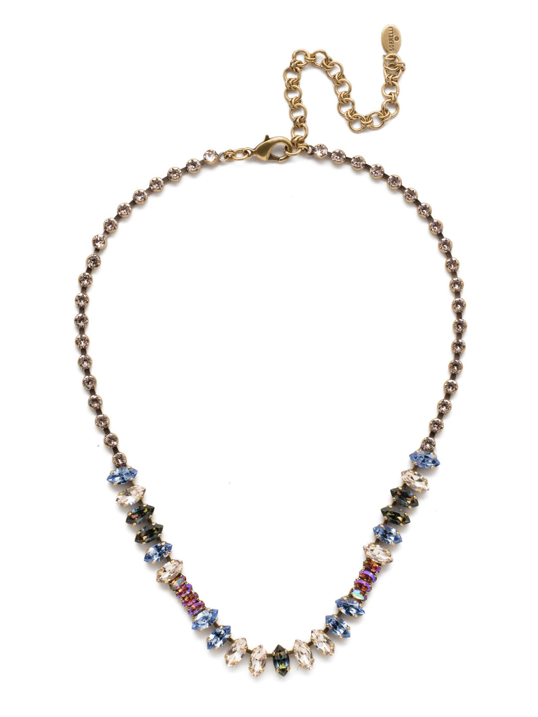 Reyna Tennis Necklace - NEP5AGSDE