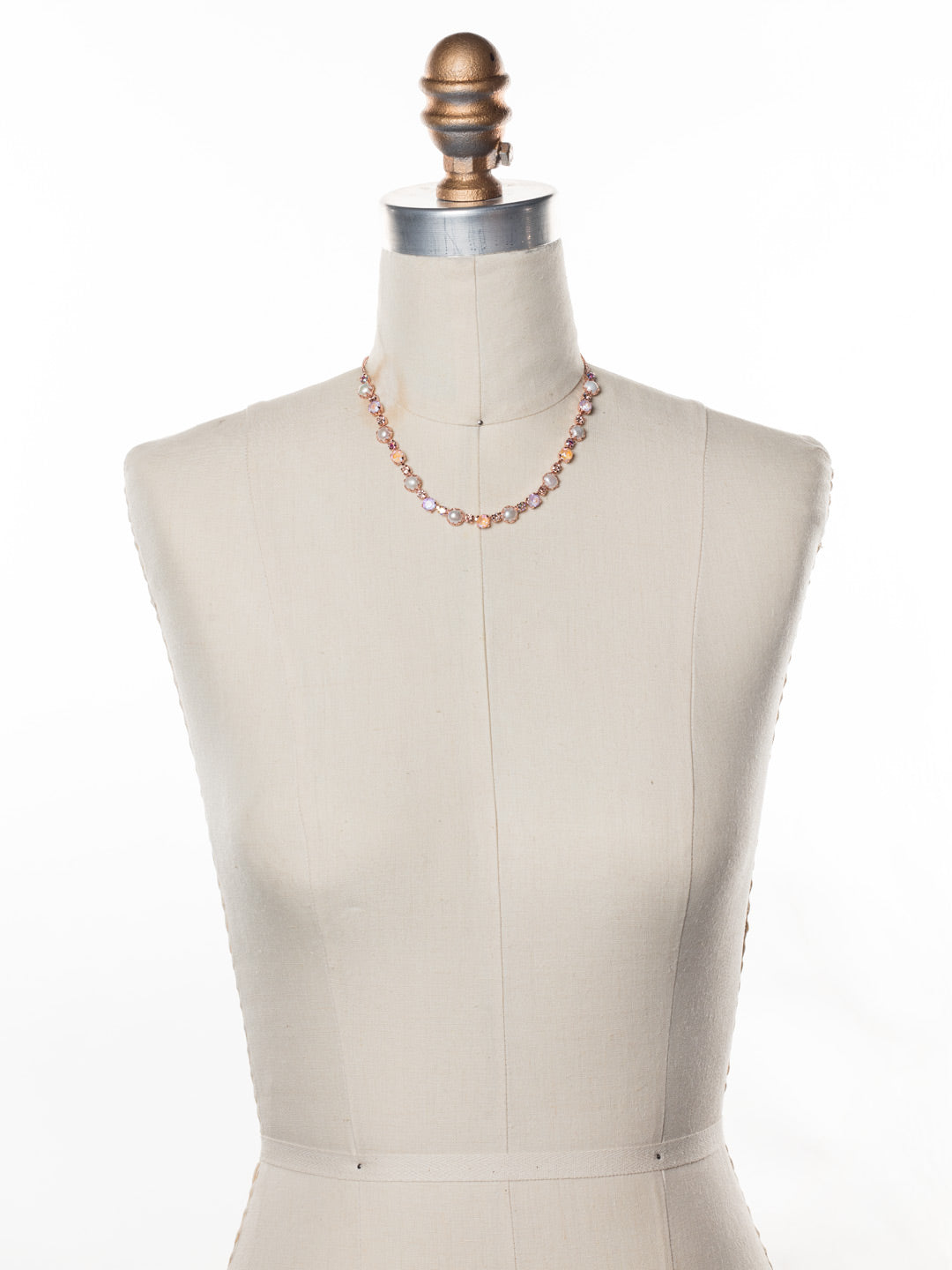 Emmanuella Tennis Necklace - NES12RGLVP