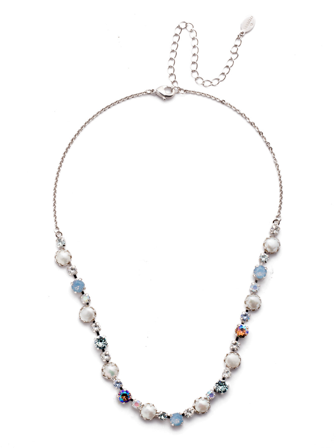 Emmanuella Tennis Necklace - NES12RHNTB