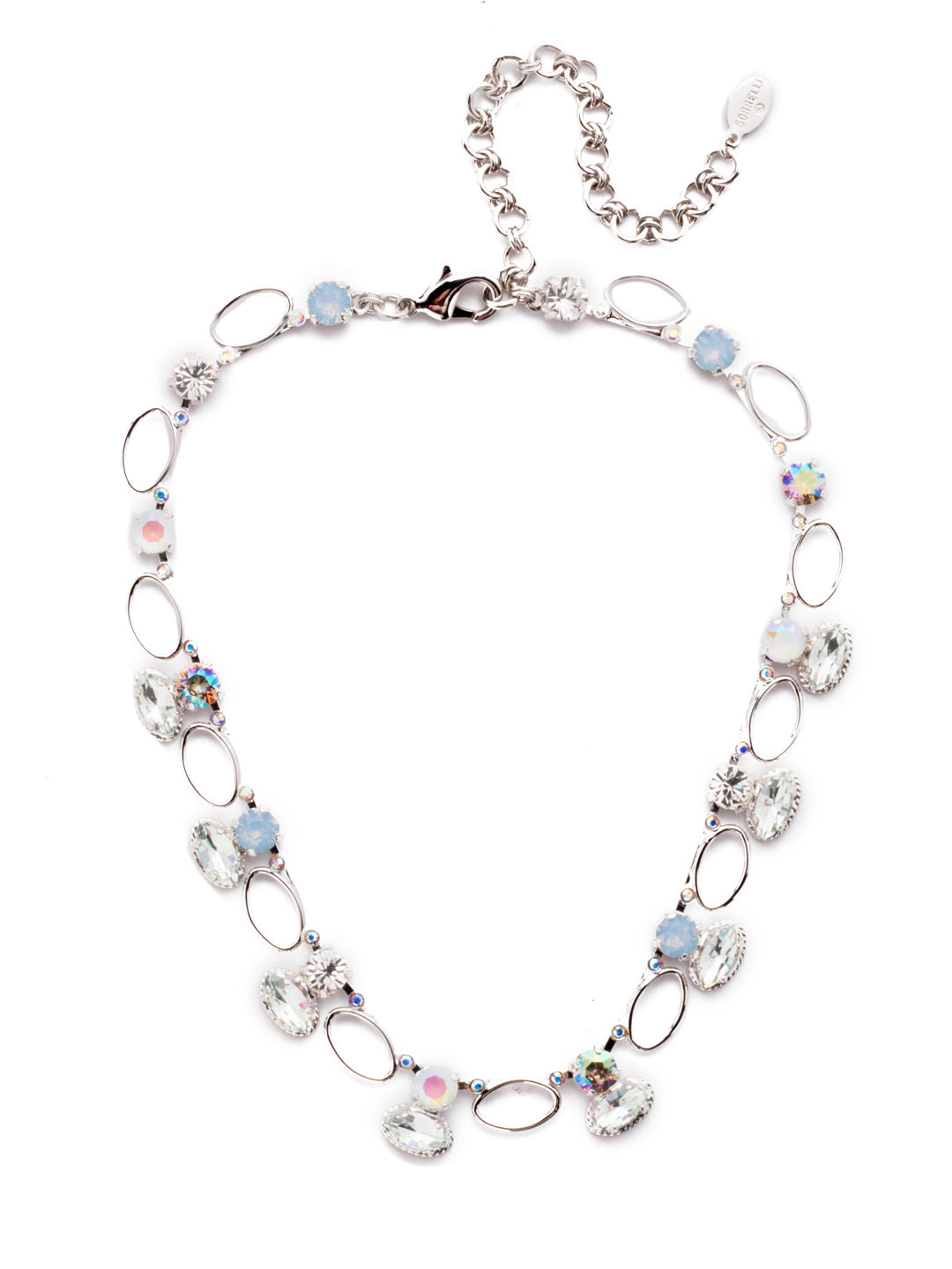 Emelia Tennis Necklace - NES15RHNTB