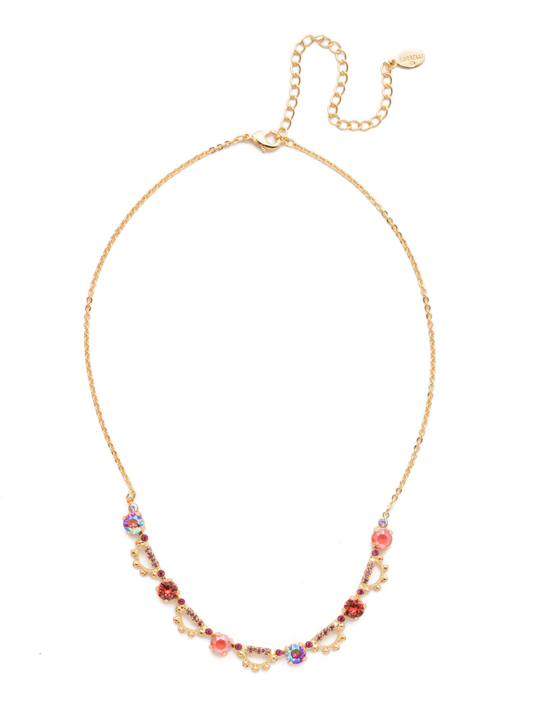 Luciana Tennis Necklace - NES19BGBGA