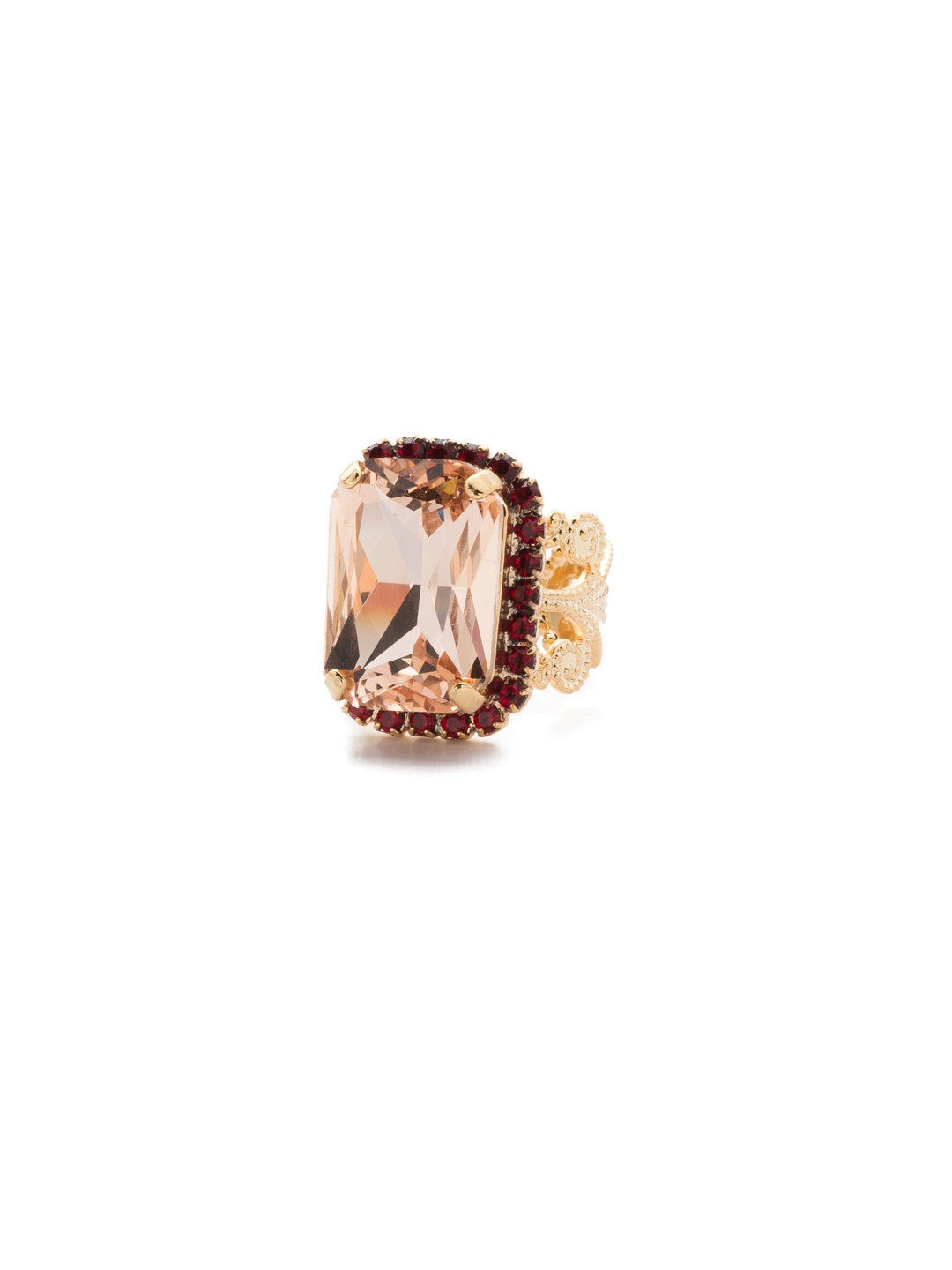 Petite Emerald-Cut Cocktail Ring - RCF9BGSRC