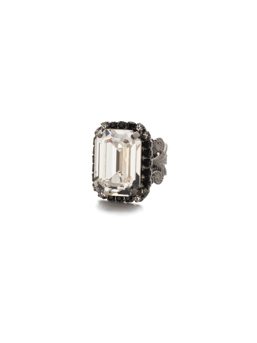 Petite Emerald-Cut Cocktail Ring - RCF9GMMMO