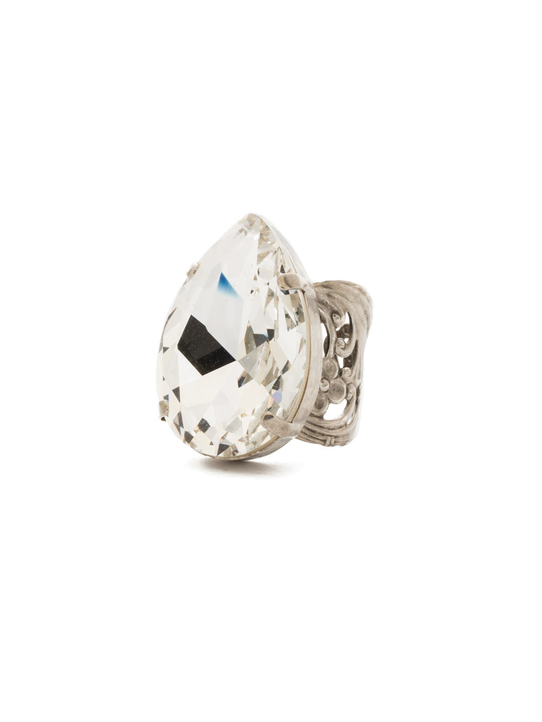 Teardrop Cocktail Ring - RCM25ASCRY